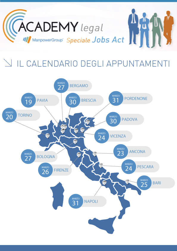 Calendario Academy Legal ManpowerGroup