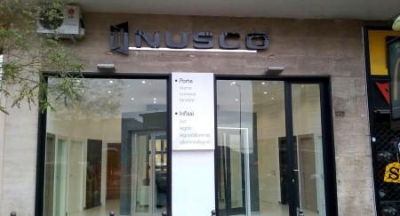 Nuovo showroom Nusco a Napoli
