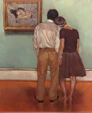 "Franz Kafka, Lettere a Milena: ""Domenica saremo insieme…"" (Dipinto Joseph Lorusso)"