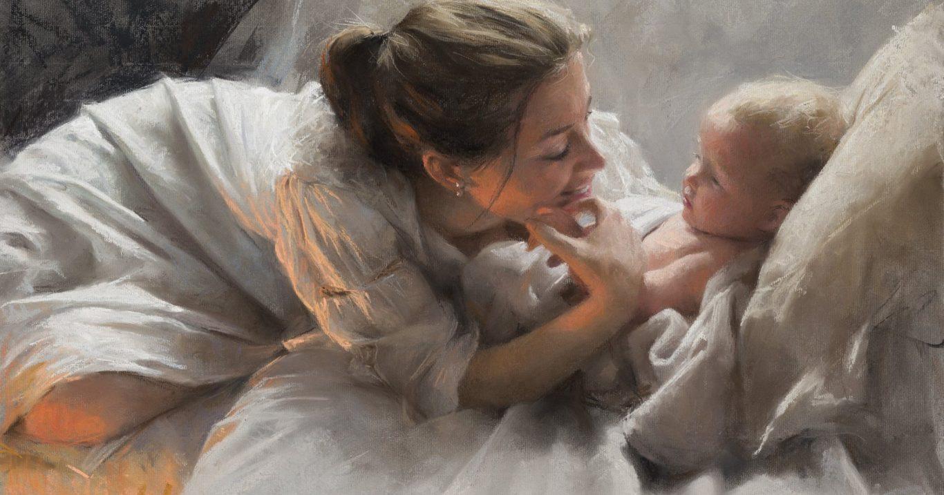 Art&Finance: le mamme su tela di Vicente Romero Redondo