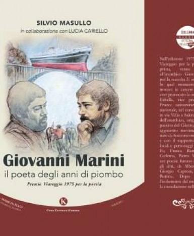 """Sacco (SA), il 6 agosto: presentazione del libro """"Giovanni Marini, il poeta degli anni di piombo"""""""