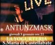 Santa Maria di Castellabate (SA), Antunzmask torna a suonare nel suo paese natio