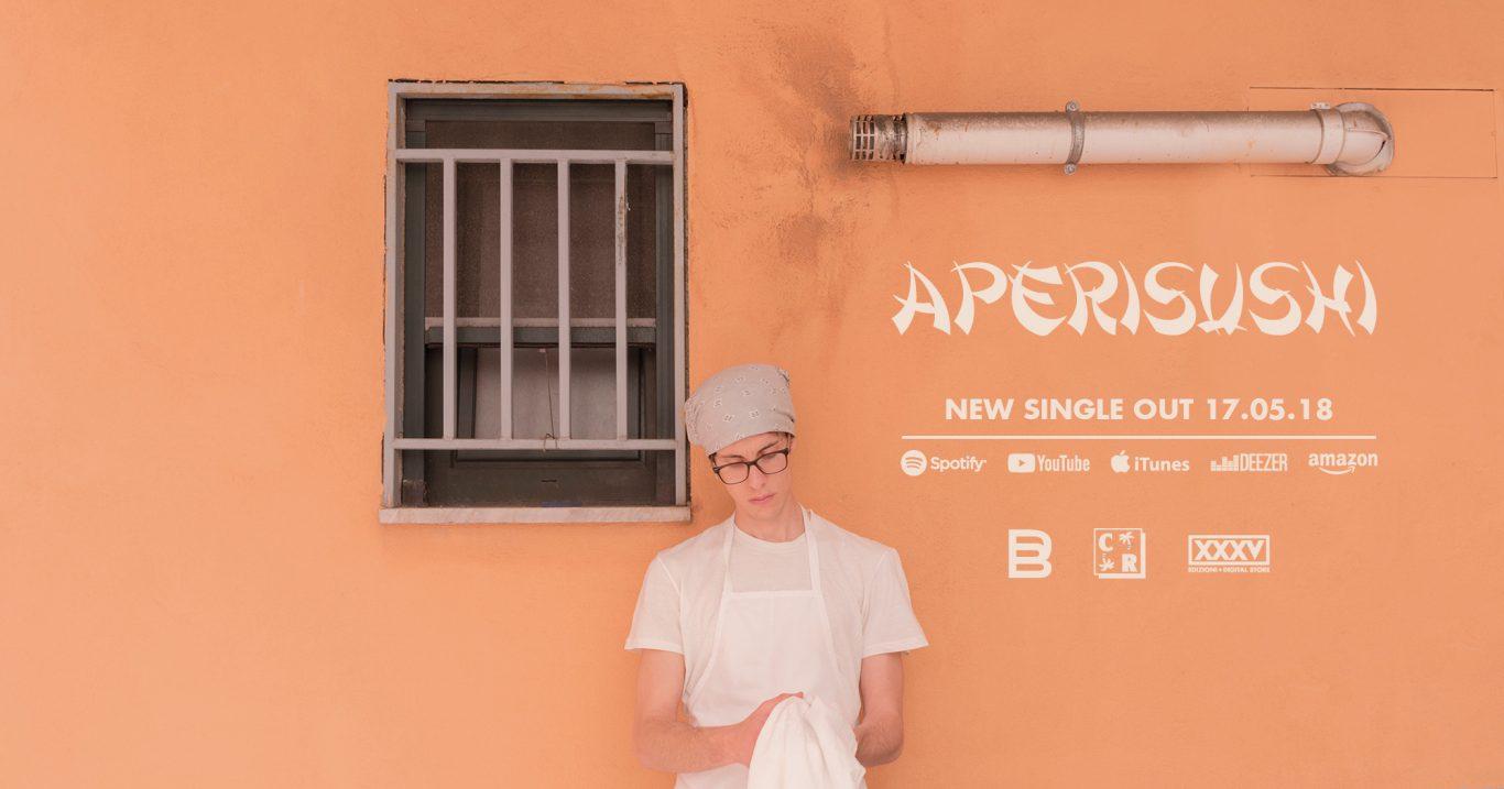 """Dalle spiagge di Marina di Camerota (SA) torna il raggamuffin di Dutty Beagle con un nuovo singolo/videoclip: """"Aperisushi"""""""