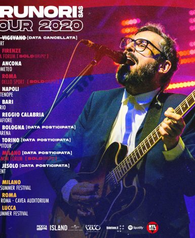 Brunori SAS Tour 2020: modifiche delle date