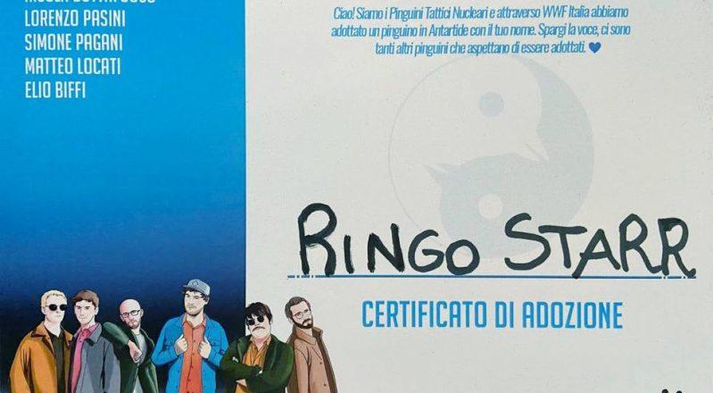 Pinguini Tattici Nucleari: 100 pinguini imperatore arrivano al 70esimo Festival di Sanremo