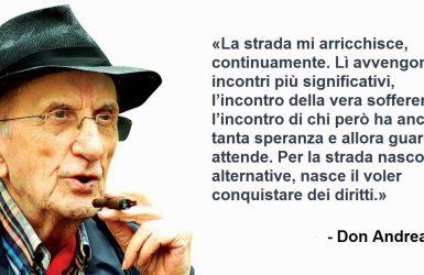 """Ricordando Don Gallo, prete degli ultimi: """"Caro Faber"""", l'omelia in morte di Fabrizio De André"""