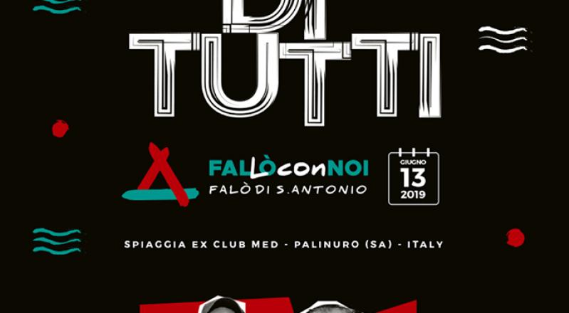 Palinuro (SA), 13 giugno:  'O Zulù e Jovine protagonisti del Falò di Sant'Antonio, l'evento plastic free sulla spiaggia dell'ex Club Med