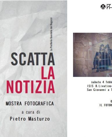 Napoli, mostra fotografica 'Scatta la notizia', storie di quartiere attraverso l' obiettivo di giovani studenti