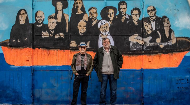 "Francesco Guccini, la cover dell'album ""Note di viaggio"" è un murales di Tvboy a Bologna (VIDEO)"