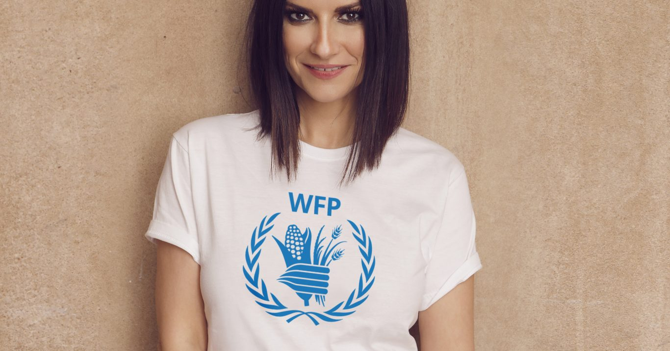 Laura Pausini nominata Goodwill Ambassador del World Food Programme (WFP)