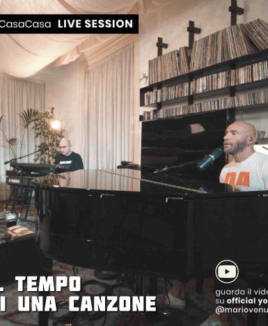 Mario Venuti: a sorpresa l'artista pubblica un video dal salotto di casa sua