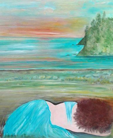"""Art&Finance: il mare cilentano di Maria Rosaria Mazzeo """"Maros"""""""