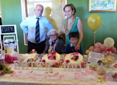Pellare (SA), festeggiati i 100 anni di Ester Ruggiero