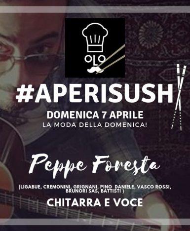 Vallo della Lucania (SA), 7 aprile: dopo un tour in giro per l'Italia con Martino Adriani, Peppe Foresta torna a suonare nel Cilento