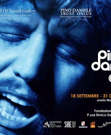"""Napoli, 18 settembre – 31 dicembre 2021: """"Pino Daniele Alive, La Mostra"""""""