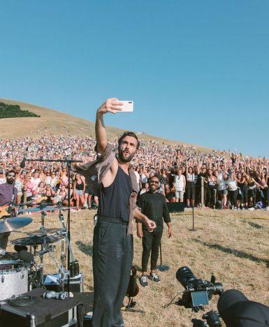 Marco Mengoni, Fuori atlantico tour: affluenza record a Monte Cucco