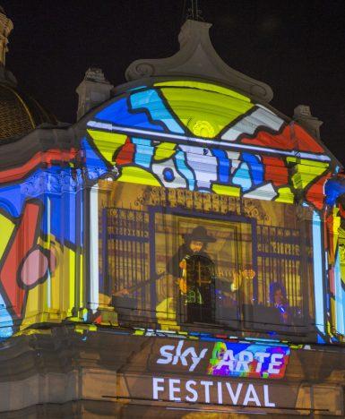 Souldesigner per il primo Sky Arte Festival di Napoli. Online il video del mapping al Rione Sanità