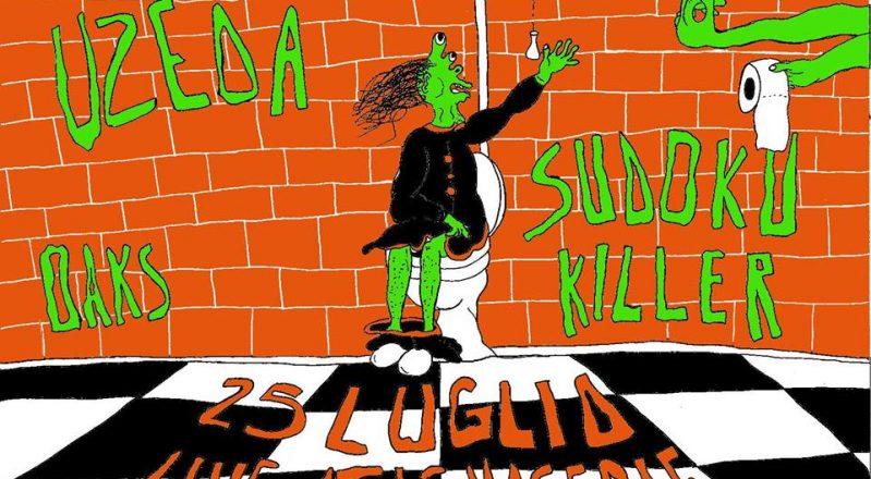 UZEDA + SUDOKU KILLER live a Molfetta il 25 luglio