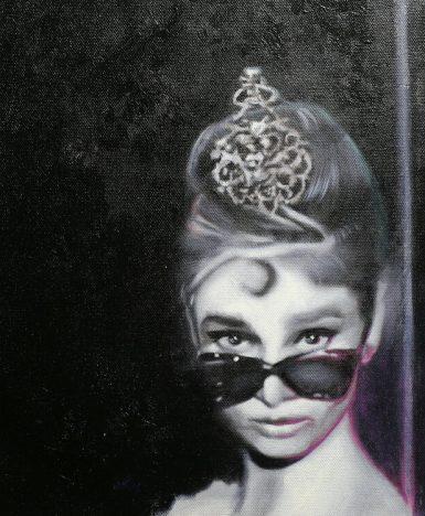 Art&Finance: l'icona Audrey Hepburn interpretata da Michael Andrew Law Cheuk Yui