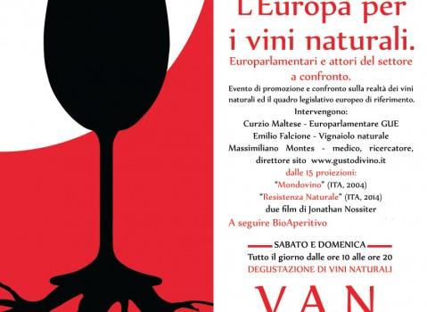 Roma, 10 e 11 dicembre: L'Europa per i vini naturali