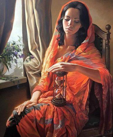 "Ivano Fossati: ""C'è tempo"" (Stanislav Plutenko Painting)"