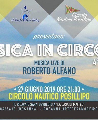"""Circolo Nautico Posillipo (NA), 27 giugno: """"Musica In Circolo"""""""