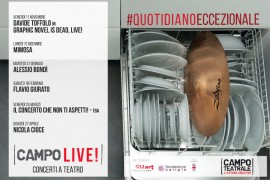 CAMPO LIVE: Al via la stagione di musica live organizzata a Milano da CAMPO TEATRALE