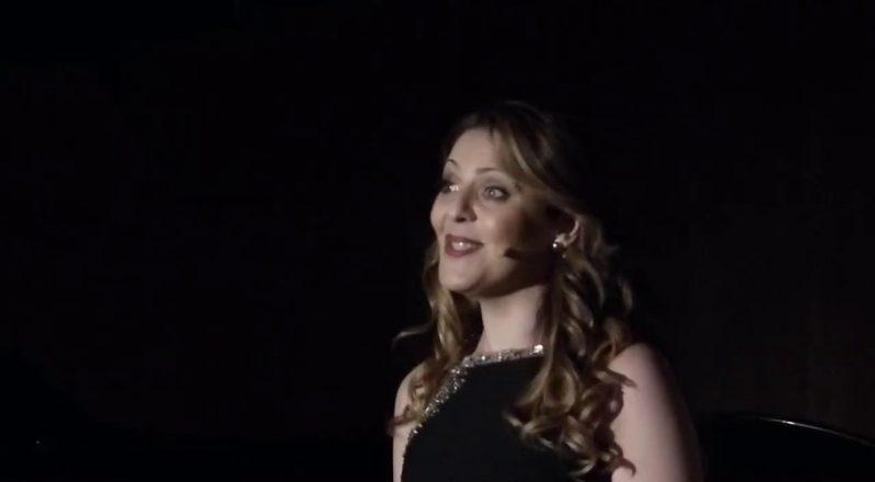 """Il soprano cilentano Maria Agresta consacra """"Vallo Città della Musica"""" (VIDEO e FOTO)"""