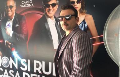 Intervista a Fabrizio Buompastore, nel cast di Non si ruba a casa dei ladri, dal 3 novembre al cinema