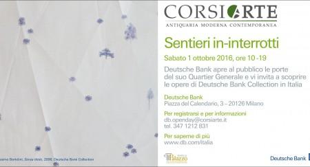 Milano, CorsiArte per Deutsche Bank: Open Day sabato 1 ottobre 2016
