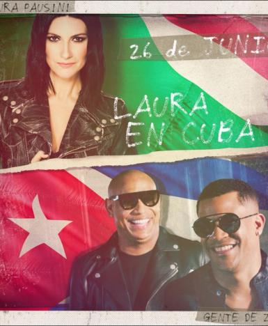 Laura Pausini, per la prima volta a Cuba ospite speciale del concerto di Gente de Zona