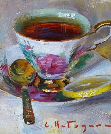 """Art&Finance: la """"fine art"""" delle tazze da tè di Elena Katsyura"""