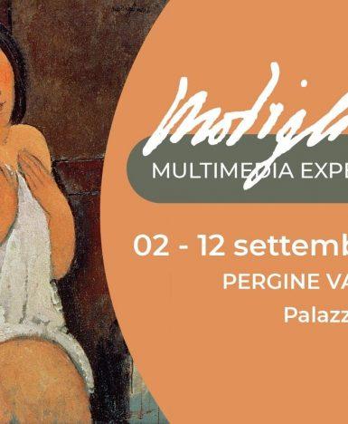 Modigliani Experience: dal 2 al 12 settembre 2021